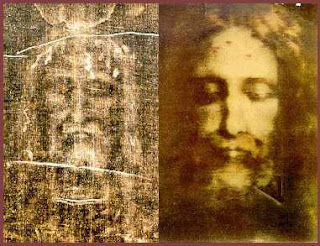 rostro de Jesús recreado