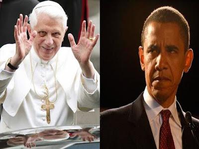 Papa obama paz Israel
