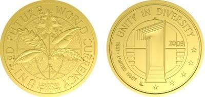 dos caras moneda mundial
