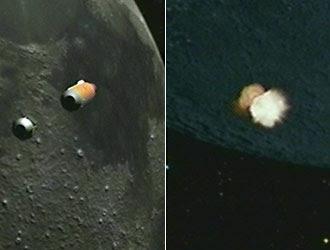 Cohetes en Luna