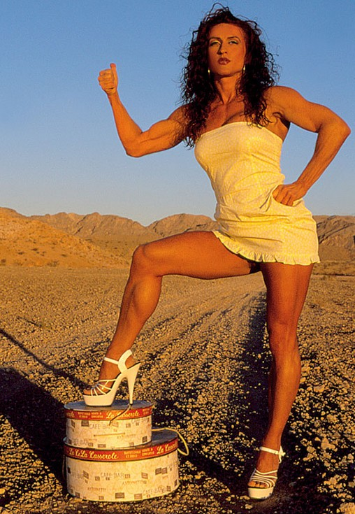 Muscular Womens Dressed: Danielle Rouleau.