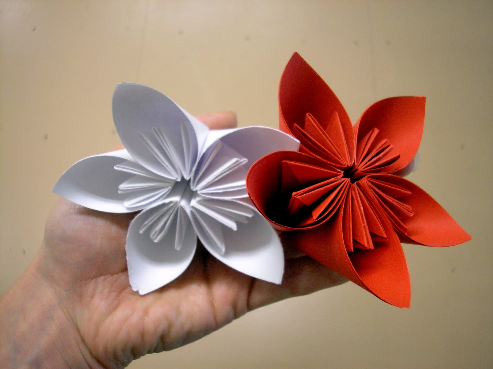 welcome home: Origami Flower Class - photo#34