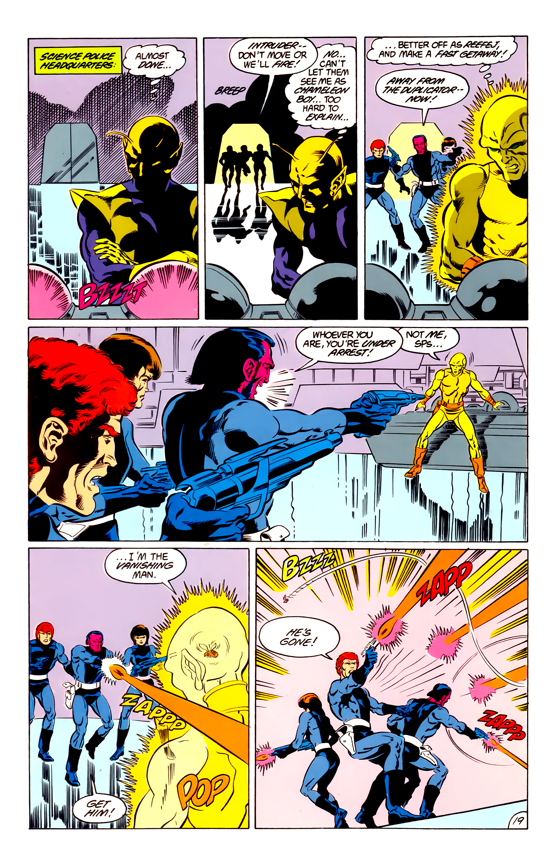 Legion of Super-Heroes (1984) 48 Page 19