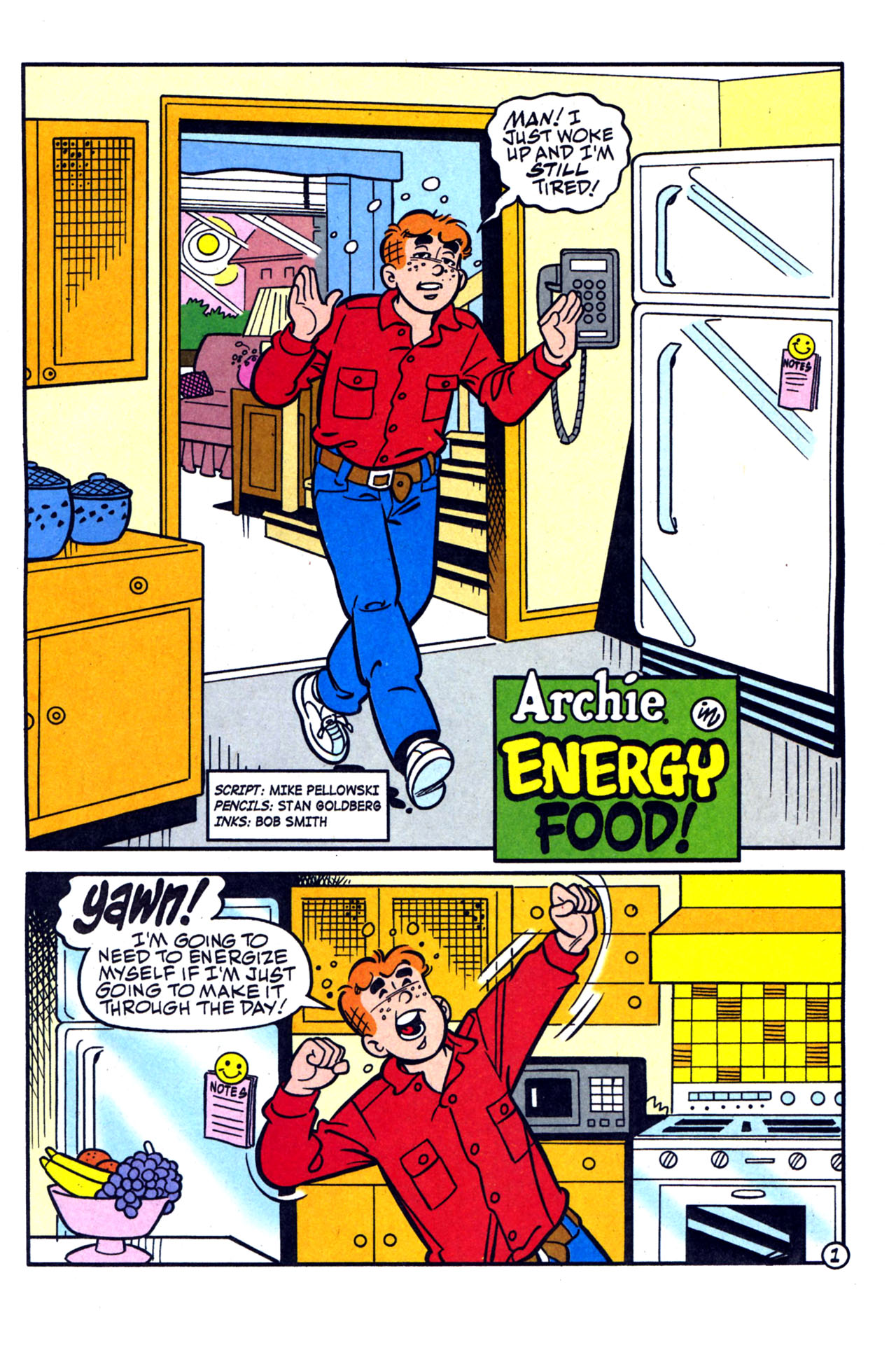 Read online Archie (1960) comic -  Issue #579 - 21