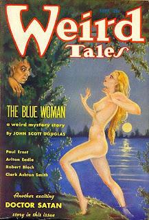 La mítica revista 'pulp' Weird tales
