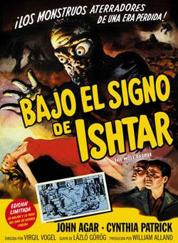 Carátula DVD de Bajo el signo de Ishtar (The Mole People)
