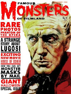 Famous Monsters of Filmland numero 9 noviembre 1960