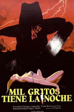 Poster Mil gritos tiene la noche 1982