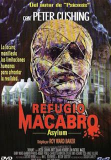 Refugio Macabro (Asylum, 1972) una curiosa película dirigida por Roy Ward Baker.