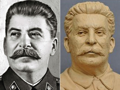 Polêmico busto de Stalin no Memorial do Dia-D