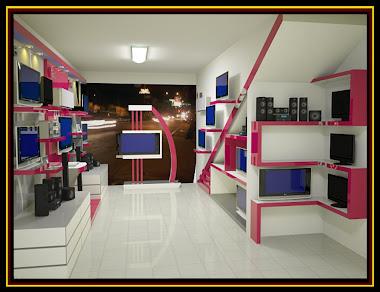 Before Seven 7 Interior pekanbaru toko komputer