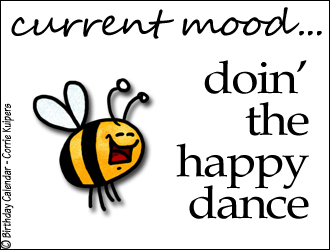Sweet-Tooth Salvation: Doing the Happy Dance: TWO MONTH