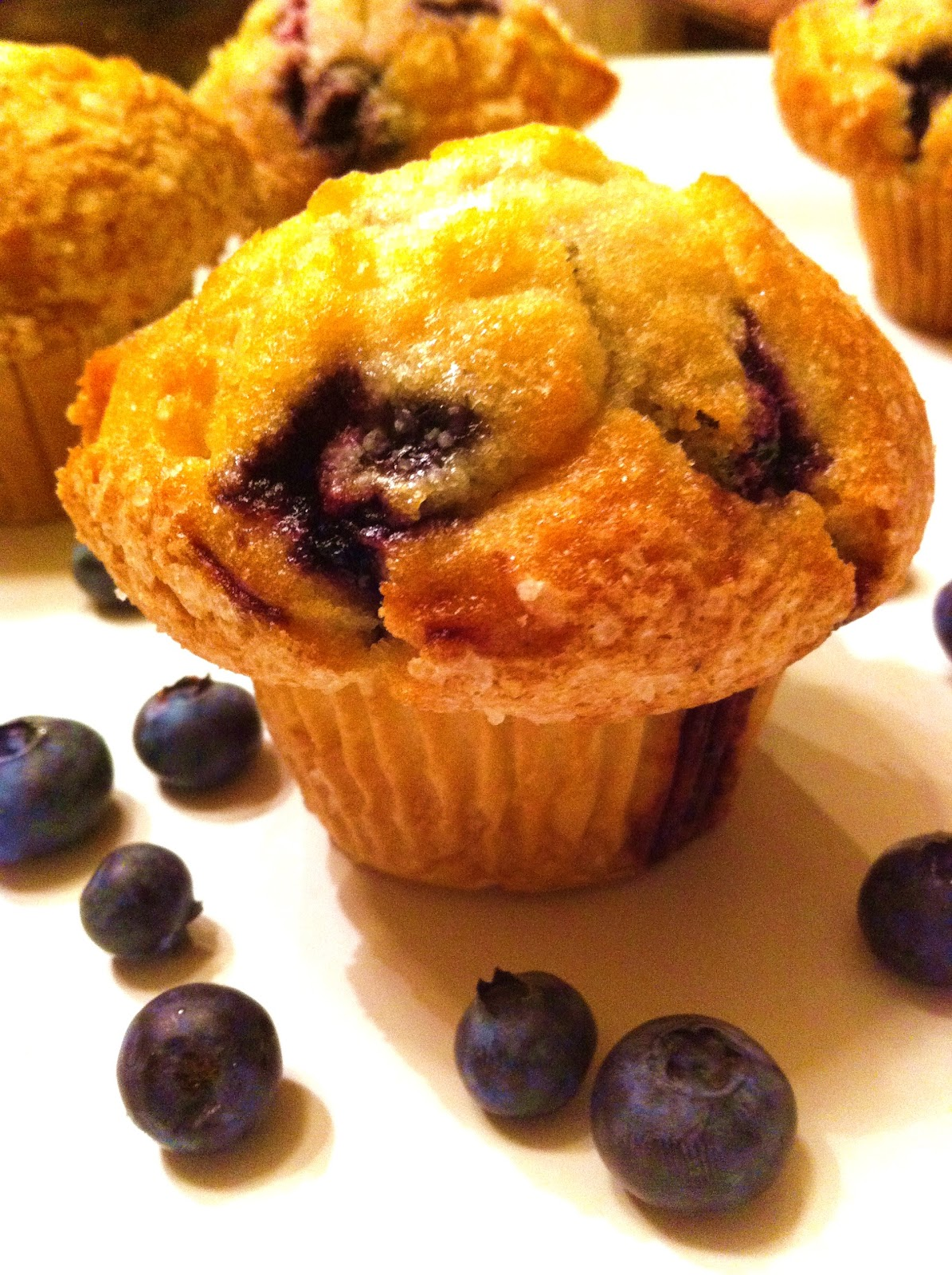 Cooking The Amazing: BUTTERMILK BLUEBERRY MUFFINS - photo#18