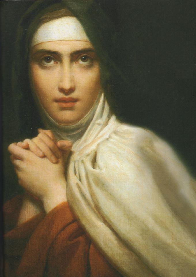 St  Teresa of Avila by Fran  231 ois G  233 rardBernini St Teresa Painting