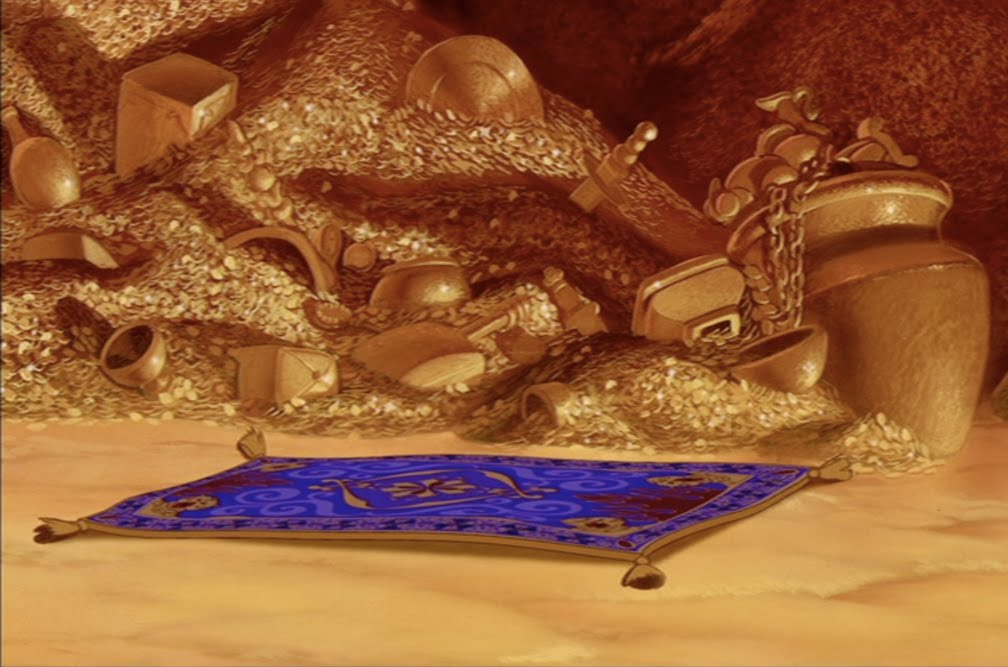 Animation Backgrounds Aladdin39s Cave Of Wonders