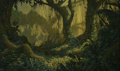 Animation backgrounds more from tarzan - Tarzan wallpaper ...