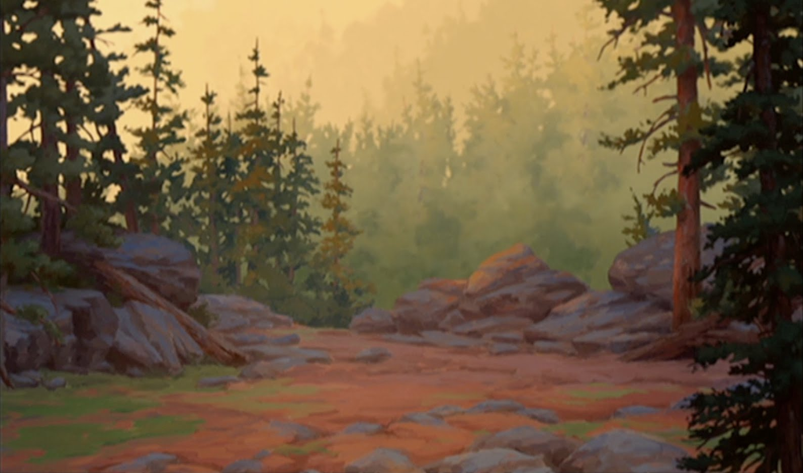 Animation Backgrounds BROTHER BEAR part two