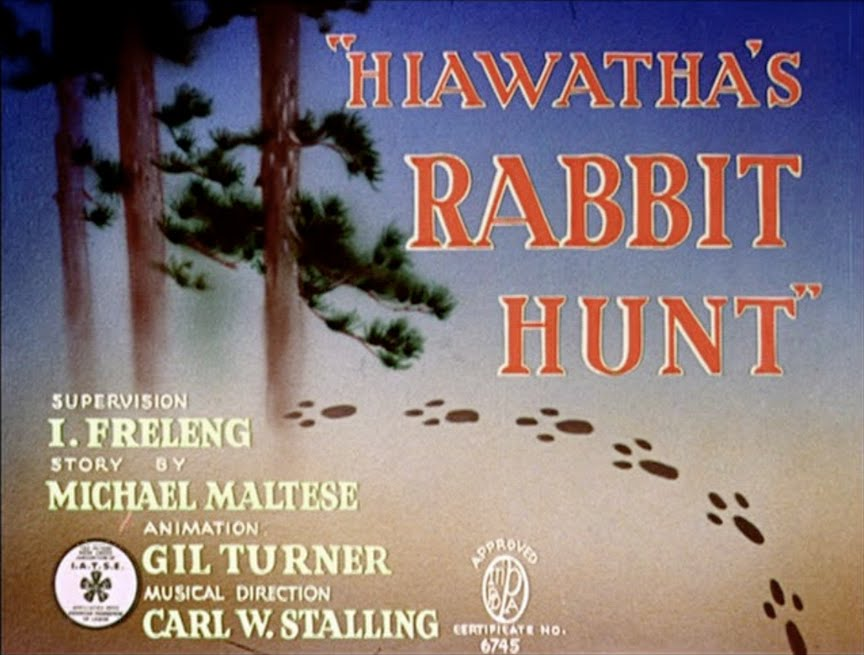 3a1cab7d568 Animation Backgrounds: HIAWATHA'S RABBIT HUNT(Warner Bros., 1941)