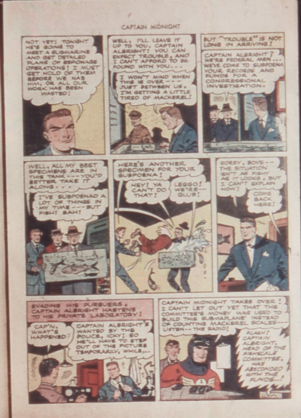 Captain Midnight (1942) issue 21 - Page 17