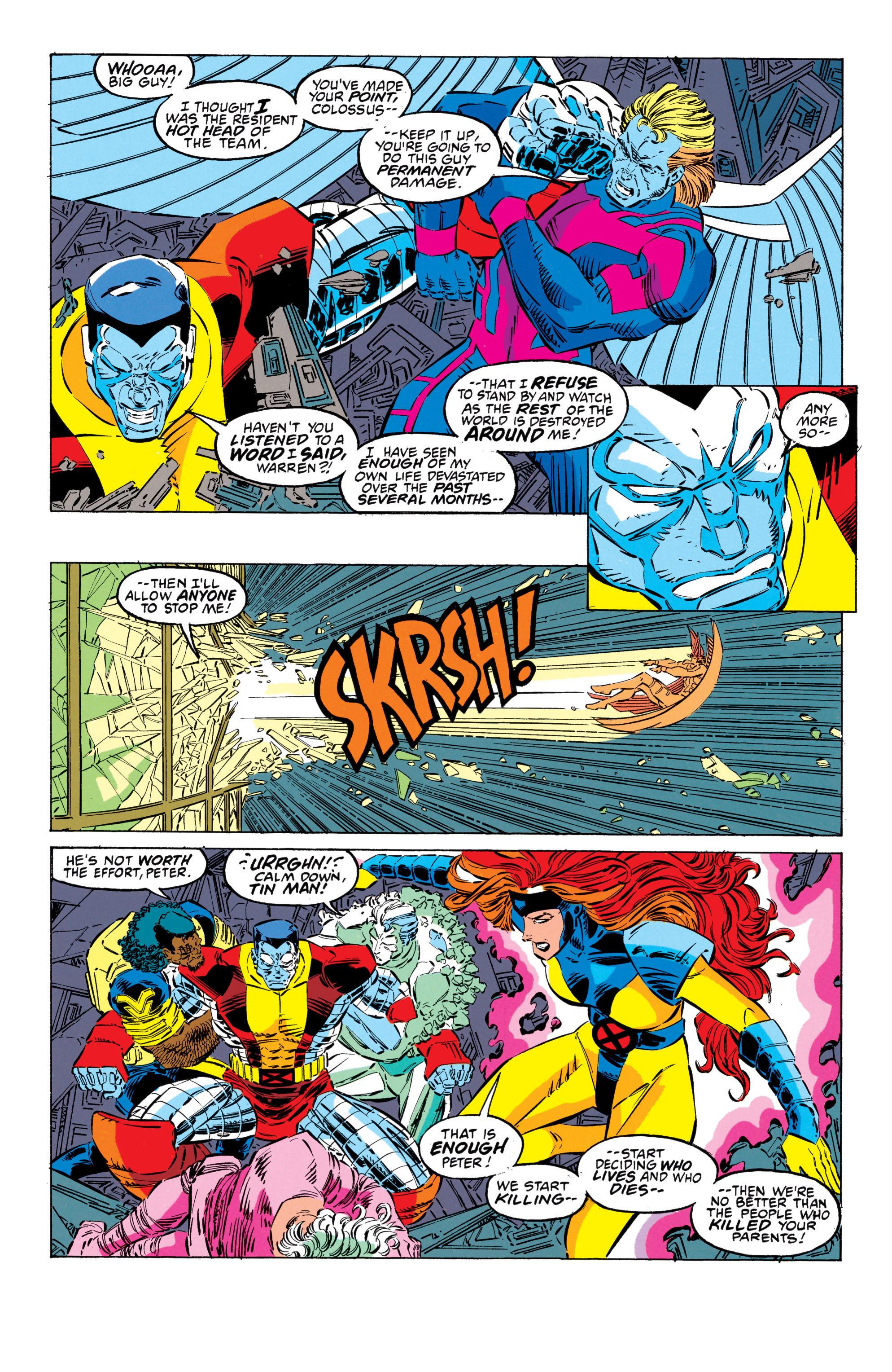 Read online Uncanny X-Men (1963) comic -  Issue #302 - 17