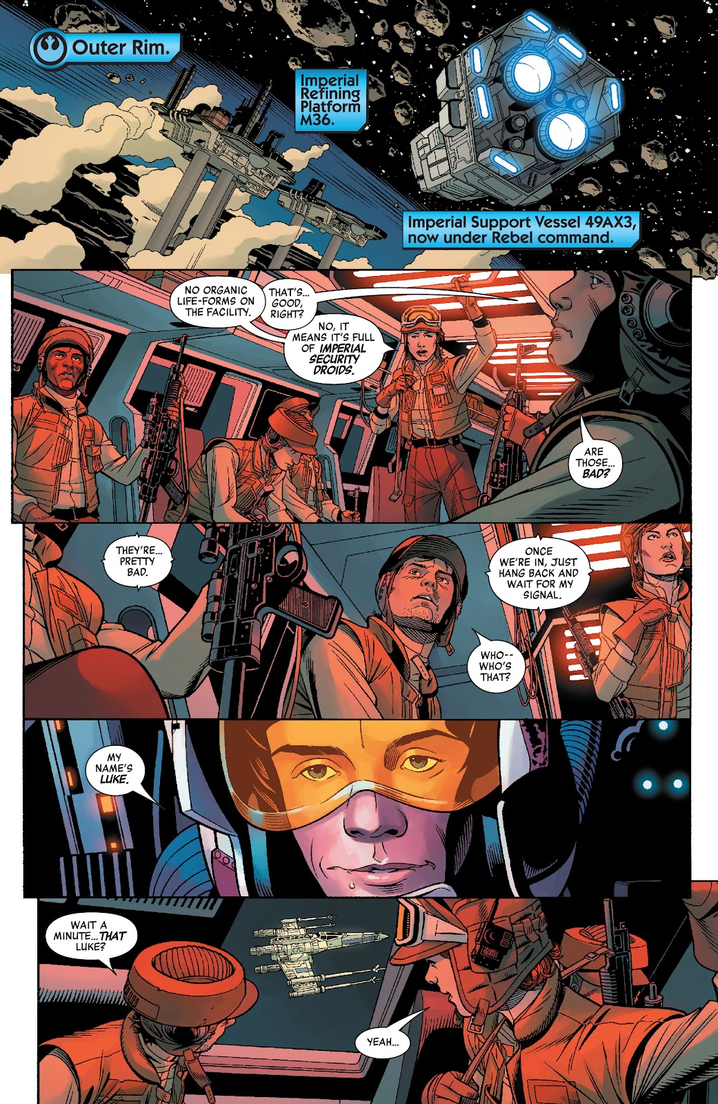 Read online Star Wars: Age of Rebellion - Heroes comic -  Issue # TPB - 73