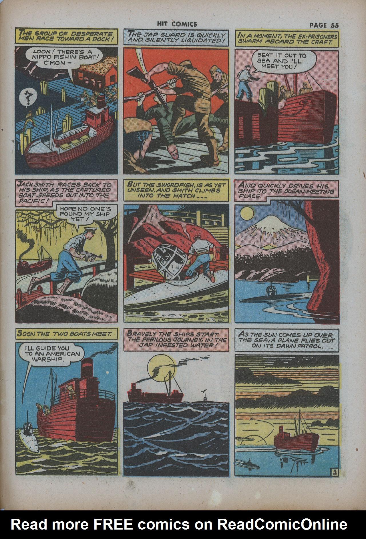 Read online Hit Comics comic -  Issue #22 - 57