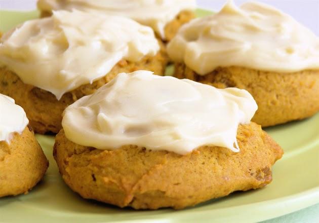 Readable Eatables Pumpkin Cookies With Cream Cheese
