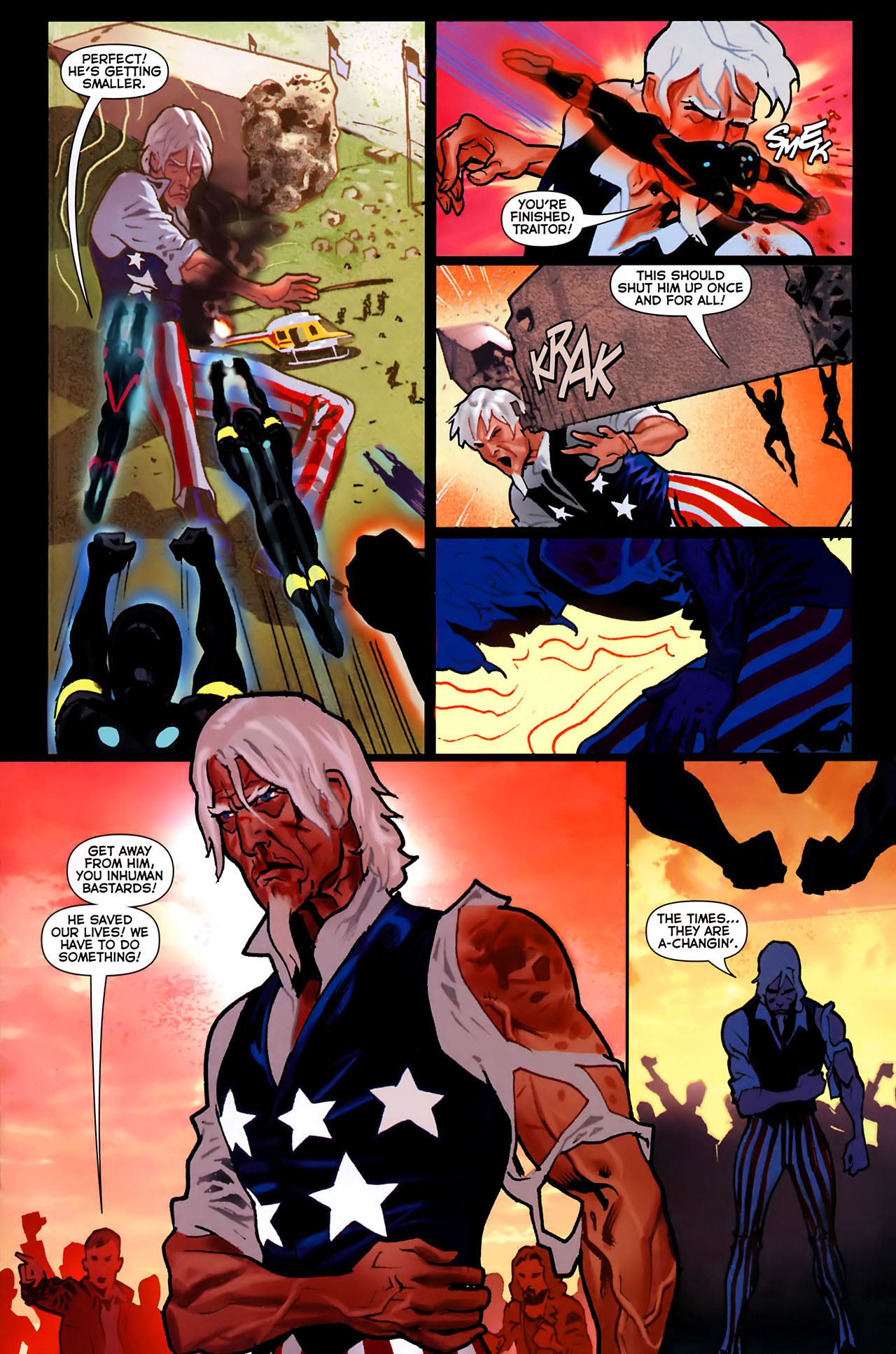 Read online Uncle Sam and the Freedom Fighters (2006) comic -  Issue #8 - 6