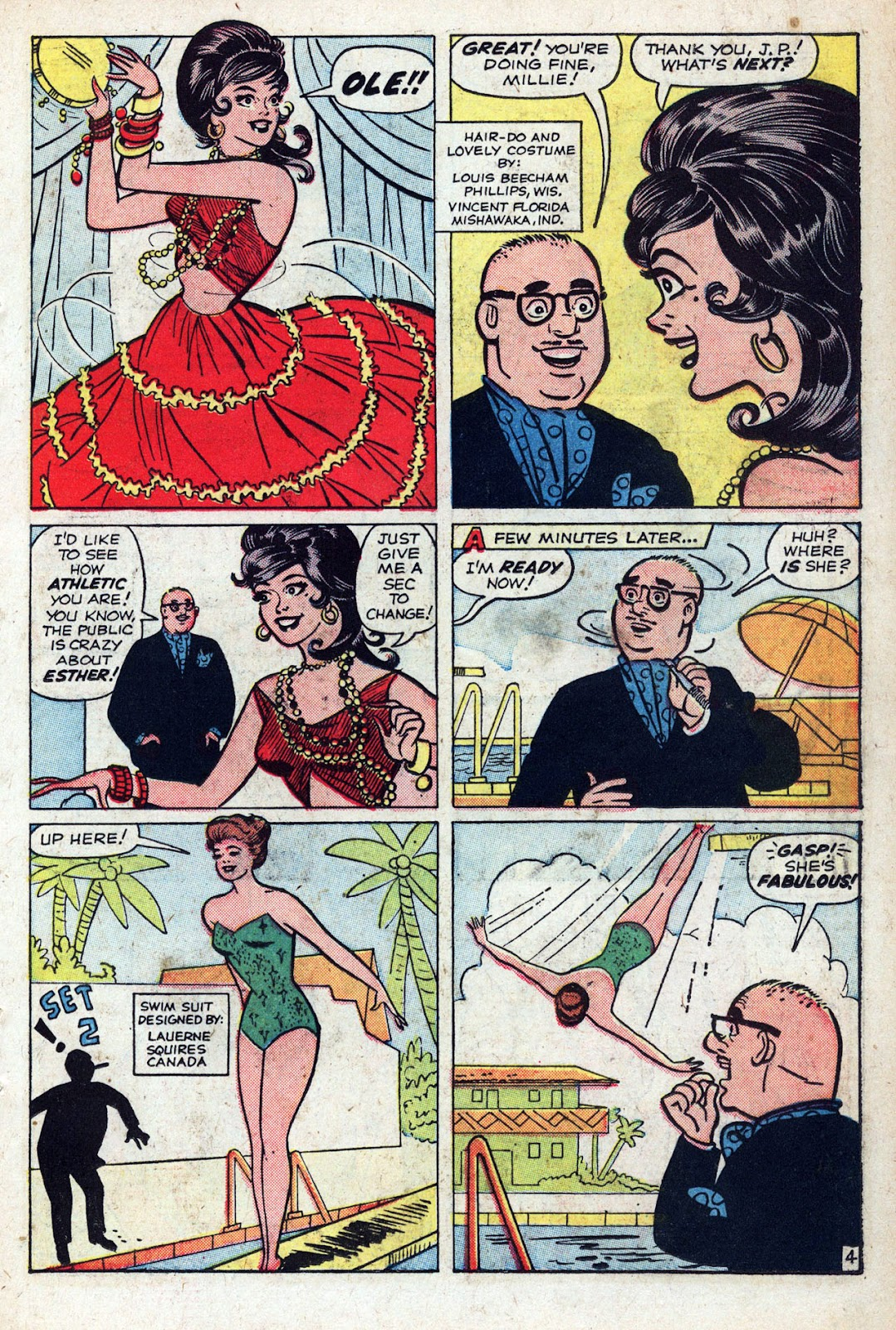 Read online Millie the Model comic -  Issue # Annual 1 - 45