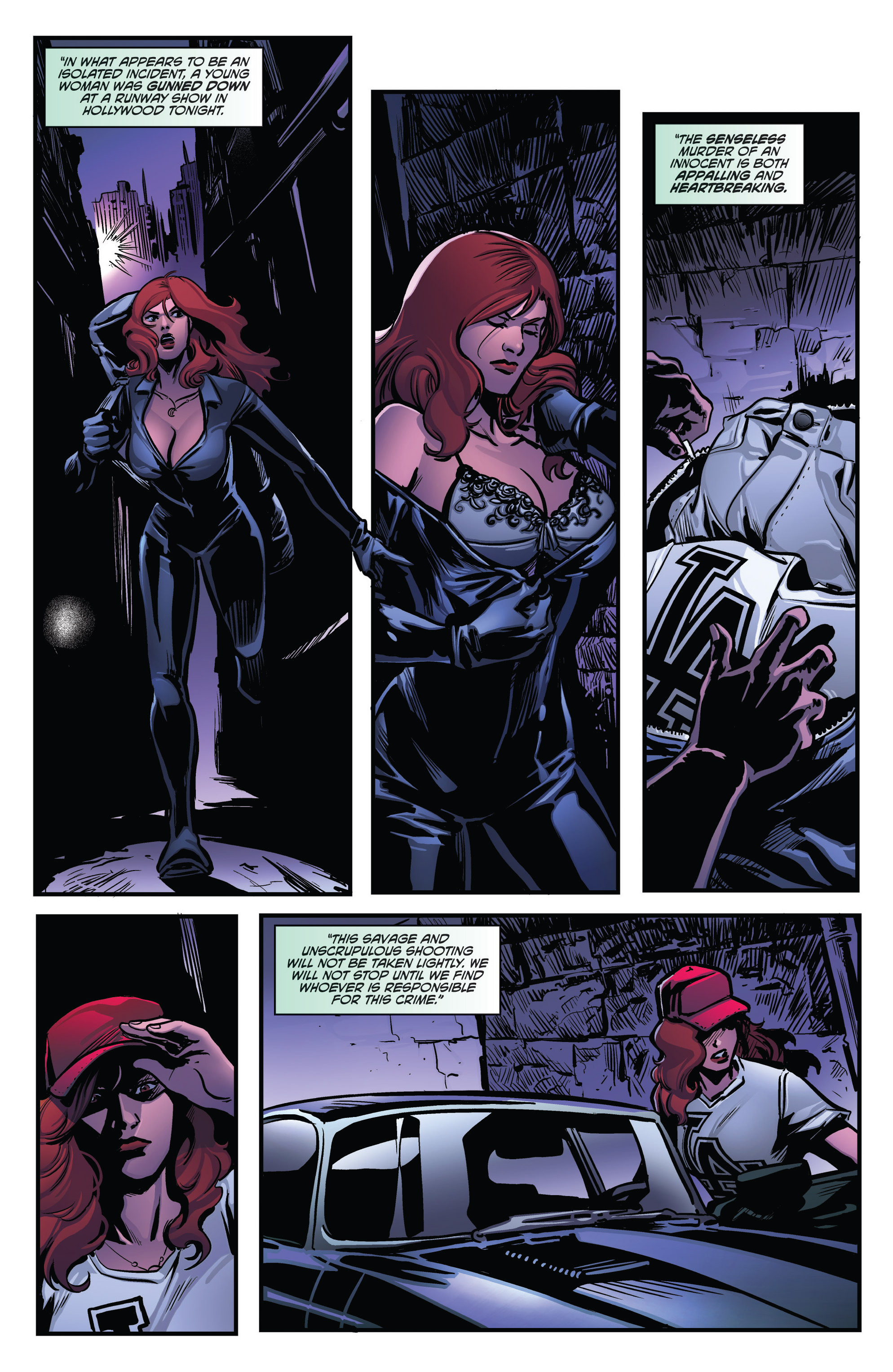Read online Grimm Fairy Tales presents Goddess Inc. comic -  Issue #4 - 3