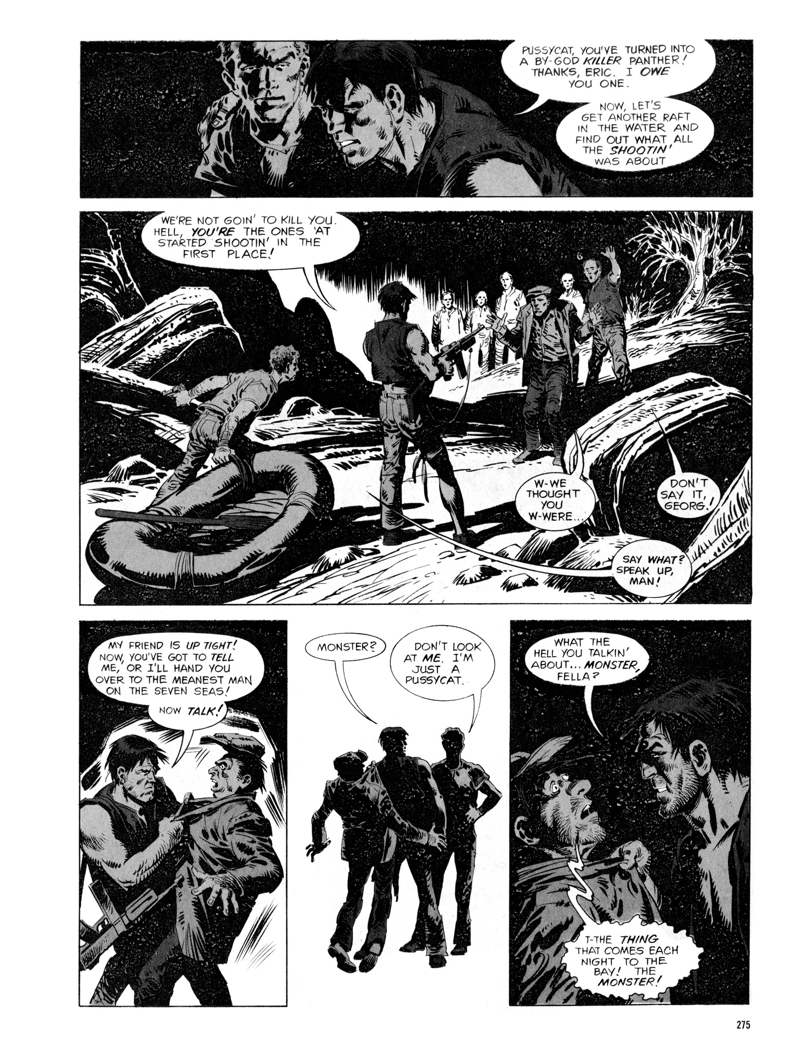 Read online Eerie Archives comic -  Issue # TPB 16 - 276