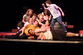 The cast of New Line's GREASE, 2007