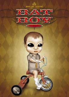 Bat Boy poster designed by Kris Wright