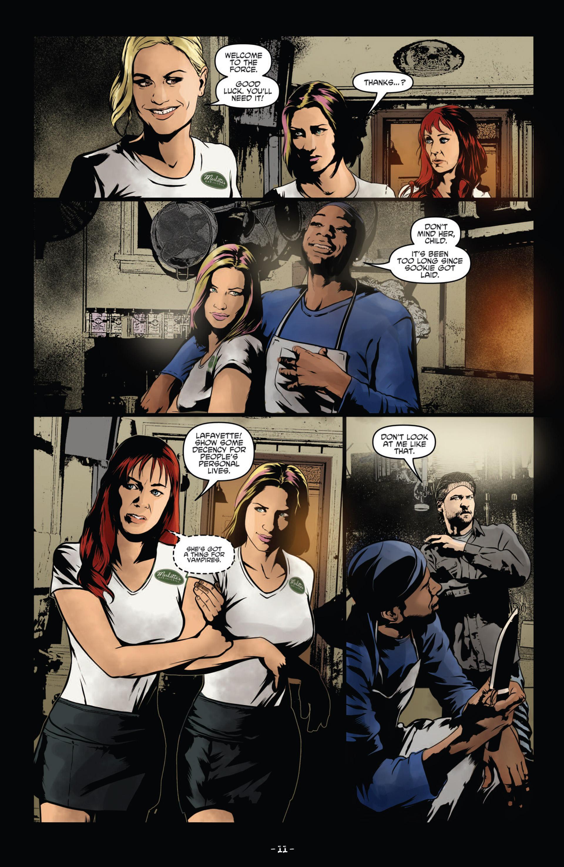 Read online True Blood (2012) comic -  Issue #11 - 14