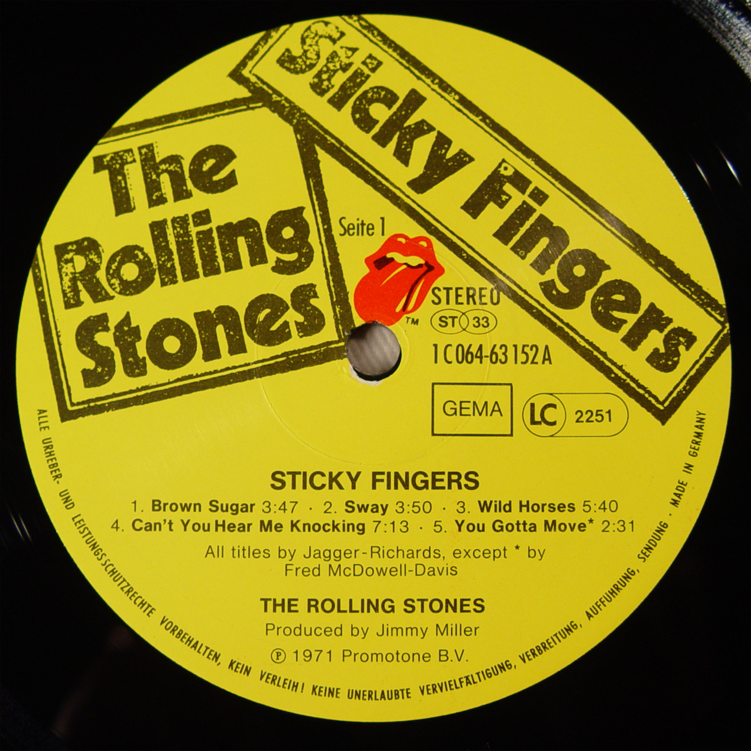 Rolling Stones Sticky Fingers Dvd Audio Shellworks