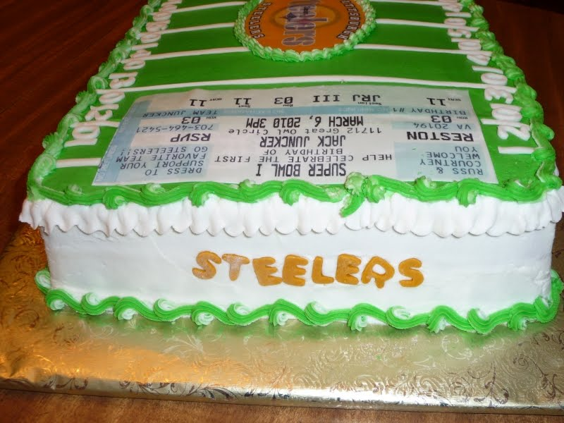Icing On Top Cakes for Every Occasion A Steelers Birthday Cake