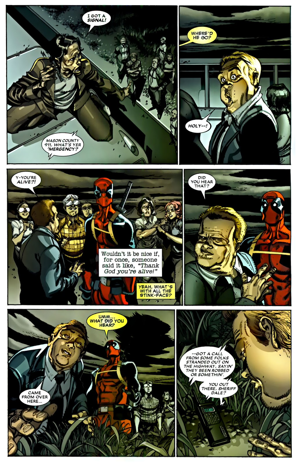 Read online Deadpool (2008) comic -  Issue #22 - 11