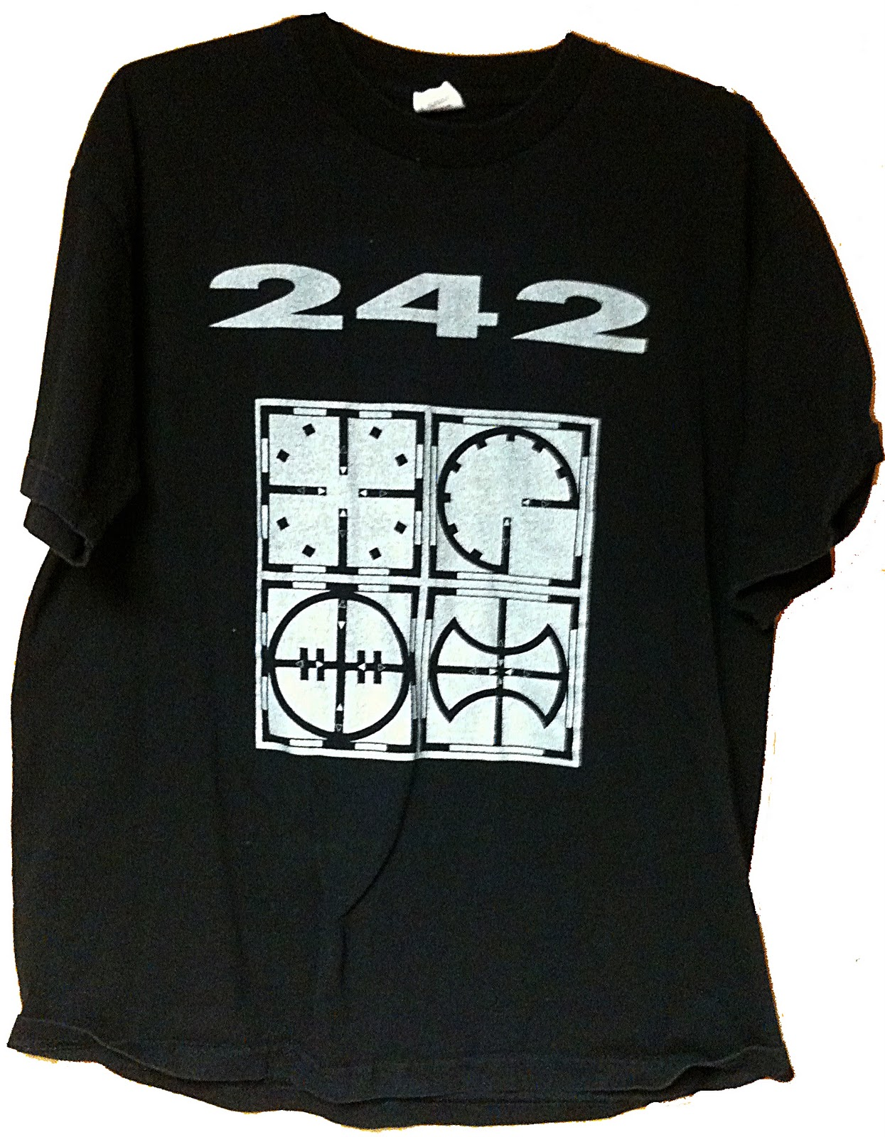 Target Work Shirts Front 242 Collector T Shirt Of The Week Tyranny Symbols