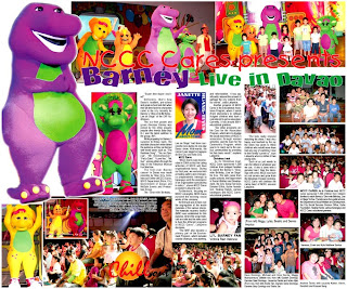 MomAboutTown NCCC Cares Presents Barney Live In Davao - Barney live in concert birthday