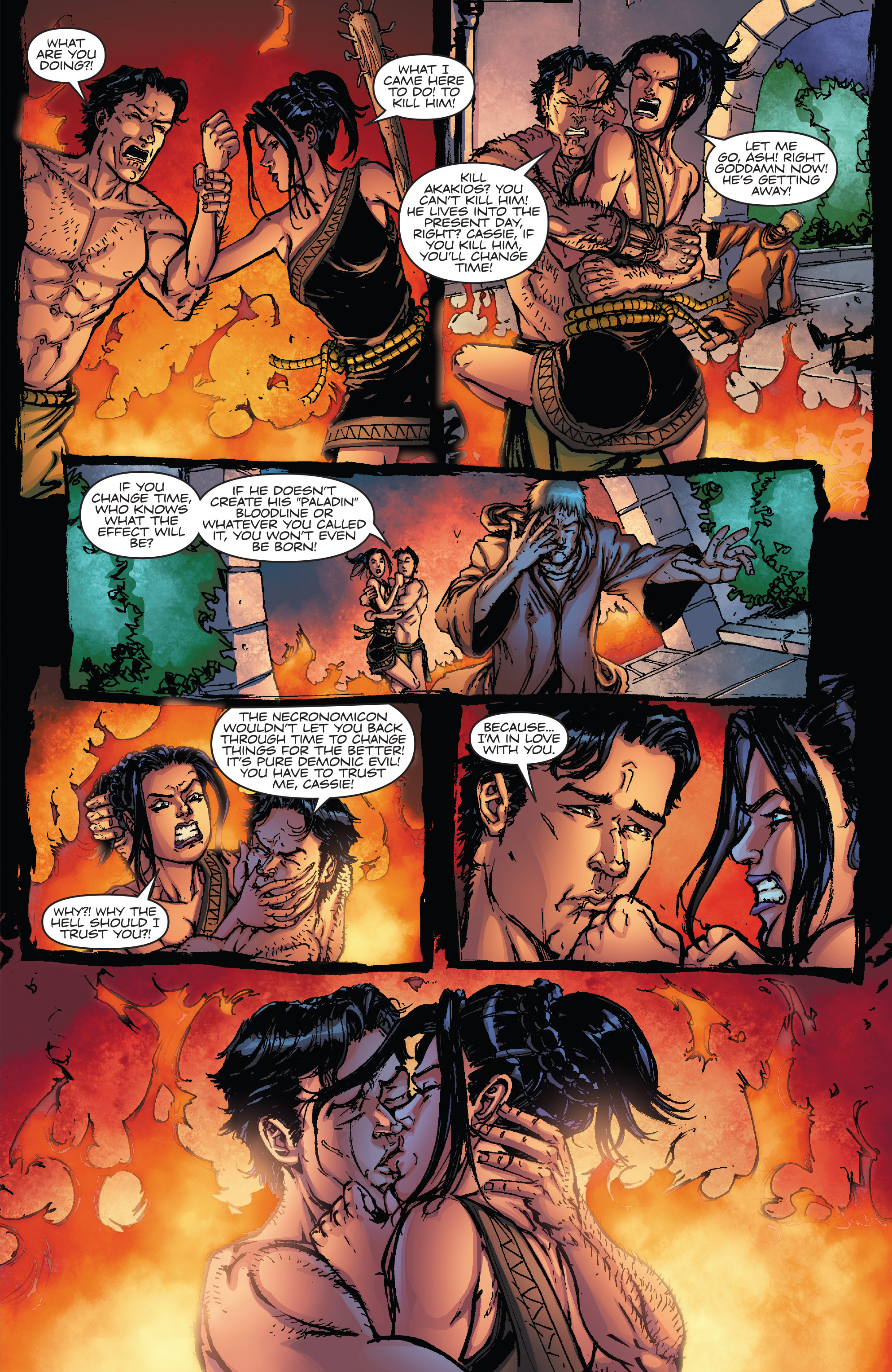 Read online Army of Darkness vs. Hack/Slash comic -  Issue #5 - 23