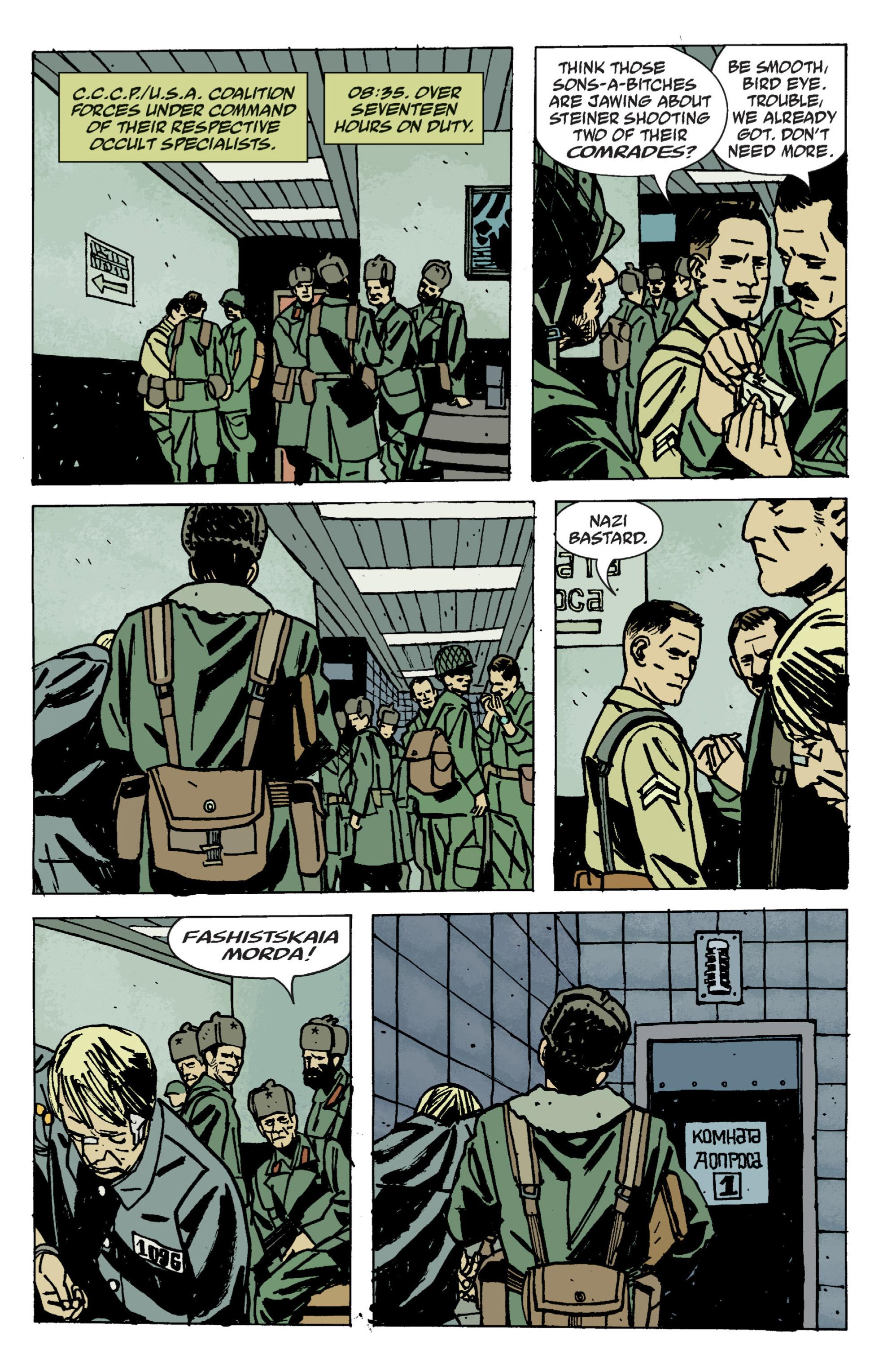 Read online B.P.R.D. (2003) comic -  Issue # TPB 9 - 87