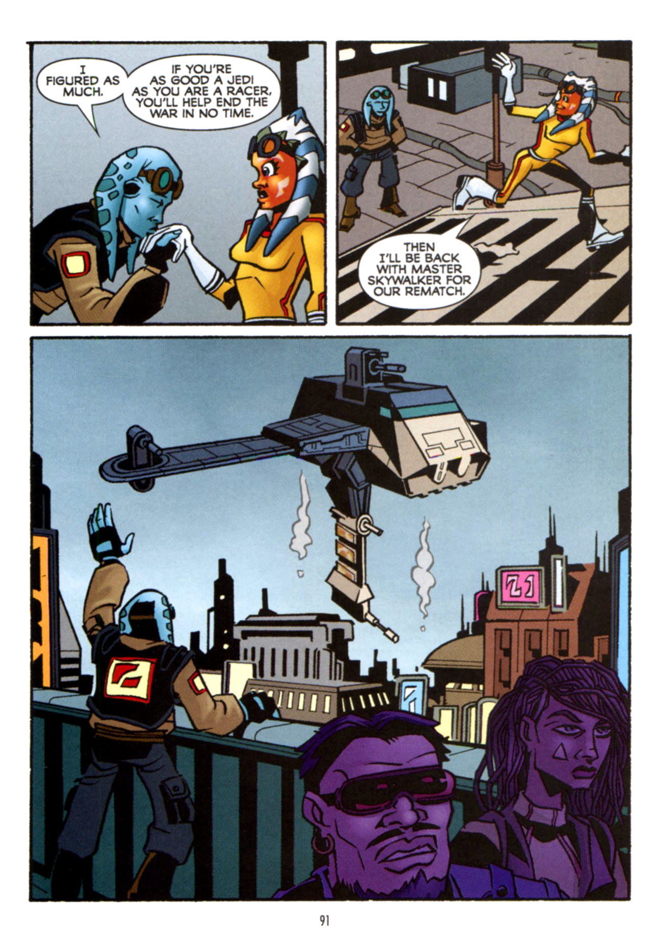 Read online Star Wars: The Clone Wars - Crash Course comic -  Issue # Full - 92