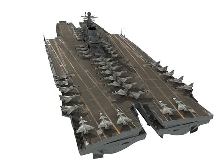 "New Chinese Super Carrier from ""Aviation Week"""