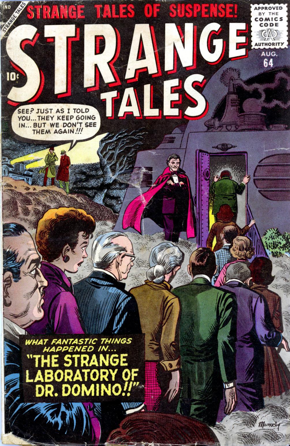 Strange Tales (1951) 64 Page 1