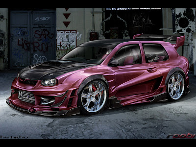 3D Art Design Wallpaper Pack 2 | Car | Robot | Resolution 1280 x 960