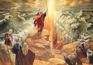 Moisés en el Mar Rojo neoatierra