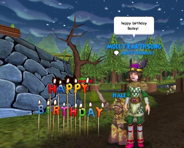 The Friendly Necromancer Happy Birthday Bailey