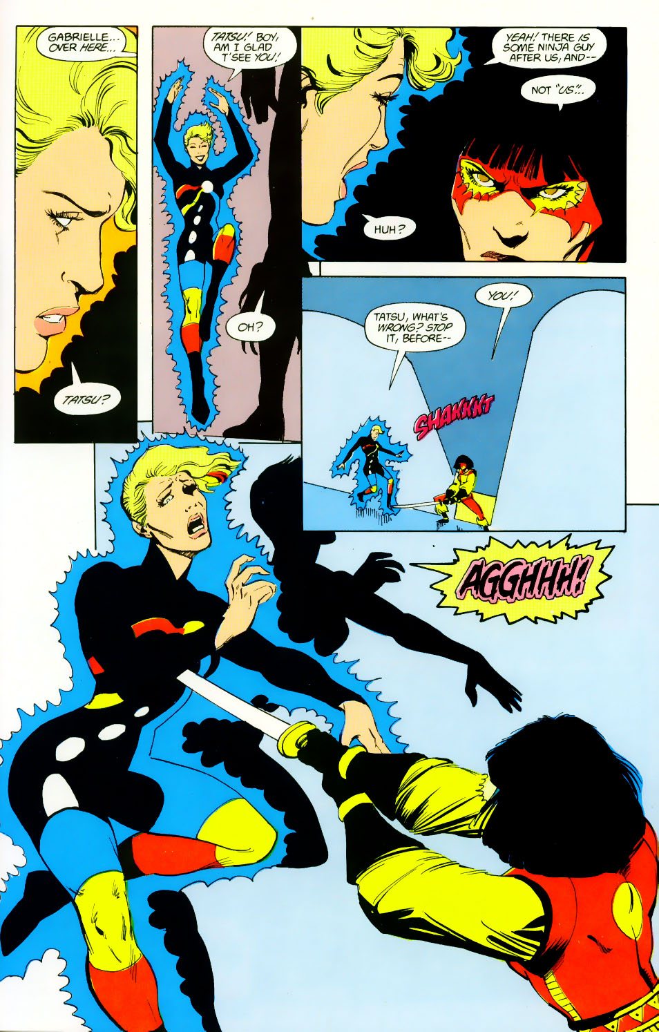 Read online Adventures of the Outsiders comic -  Issue #46 - 12