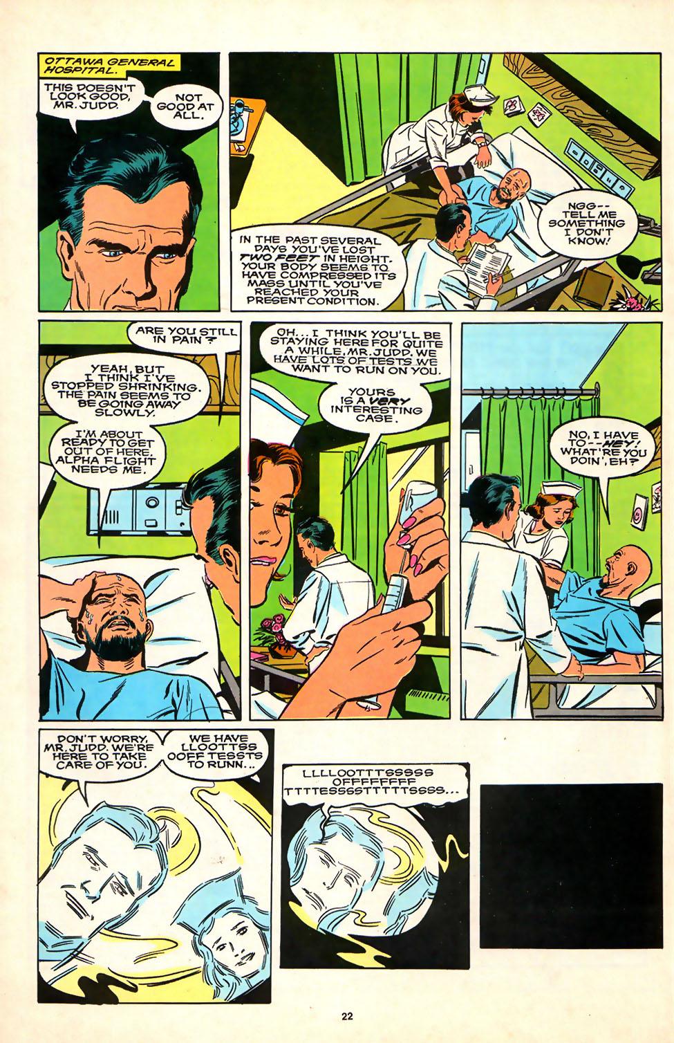 Read online Alpha Flight (1983) comic -  Issue #81 - 18