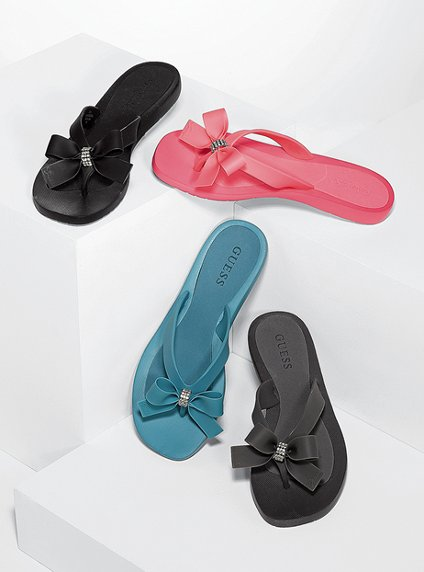 7fe0f14dbb210 ♥Queenniewei.com♥  GUESS Tutu Flip-flop Sandals